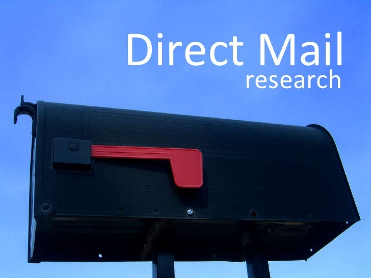 Direct Mail research