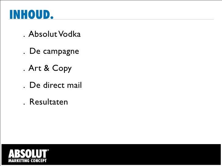 Direct mail proposition Slide 2
