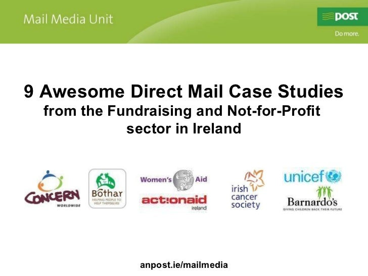 9 Awesome Direct Mail Case Studies from the Fundraising and Not-for-Profit  sector in Ireland anpost.ie/mailmedia