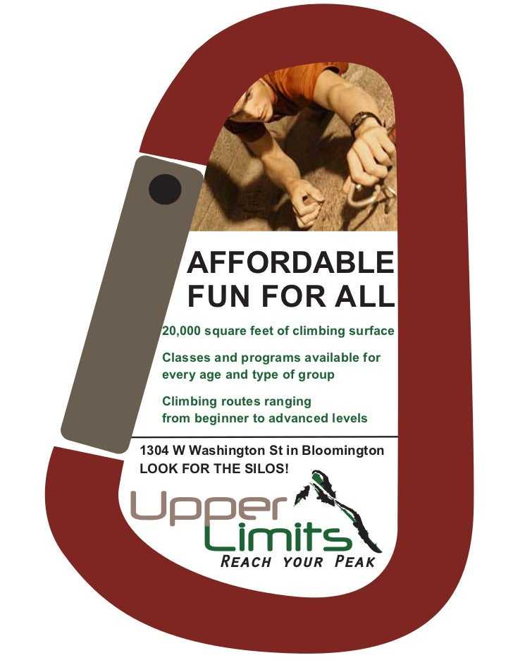 AFFORDABLE       FUN FOR ALL   20,000 square feet of climbing surface   Classes and programs available for   every age and...