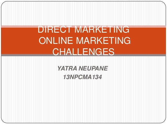 The Advantages of Direct Marketing Over Internet Online Marketing