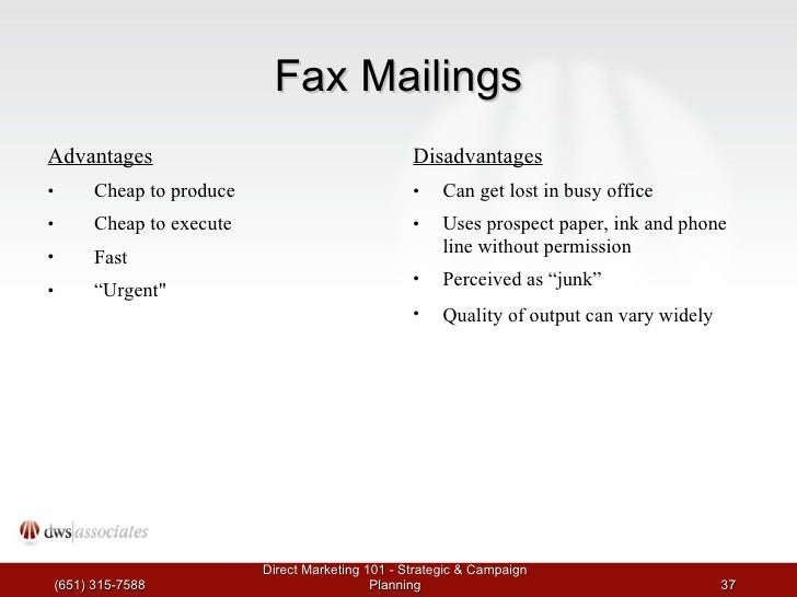 Fax Advantages And Disadvantages Related Keywords