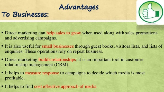 The Advantages & Disadvantages of Direct Marketing & Telemarketing