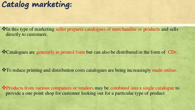direct marketing and direct selling Direct sales marketing can look like an easy way for a business to avoid expensive, scattershot marketing techniques, such as television commercials and middleman retailers.