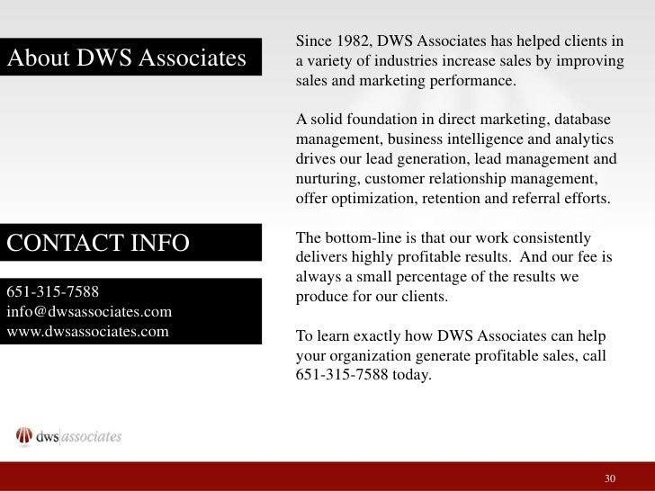 Marketing industry referral foundation