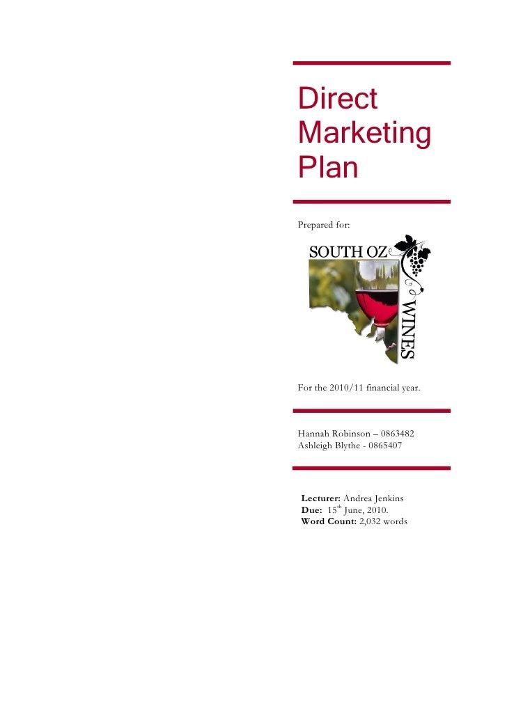 mizoram direct marketing business plan