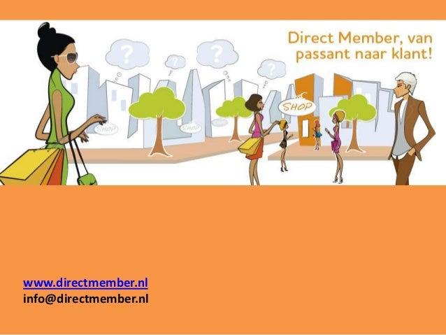 www.directmember.nlinfo@directmember.nl