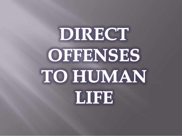    Murder   Euthanasia   Abortion   Suicide