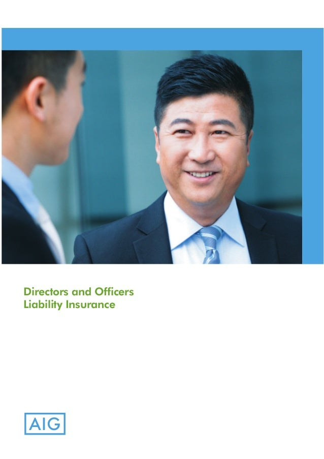 AIG Malaysia Management Liability Insurance