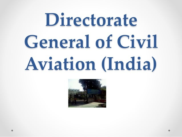 Directorate General of Civil Aviation (India)