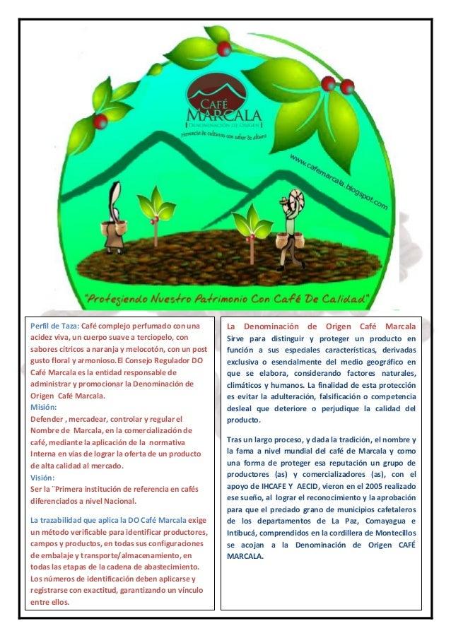 Directorio de cooperativas con denominación de origen café  marcala 2014 2015 Slide 2