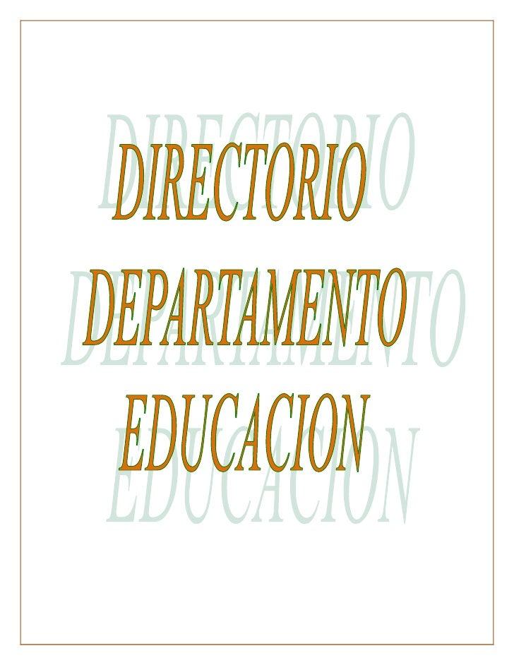 OFICINA DEL SECRETARIO               NOMBRE                          PUESTO             TELÉFONOAwilda García Rivera      ...