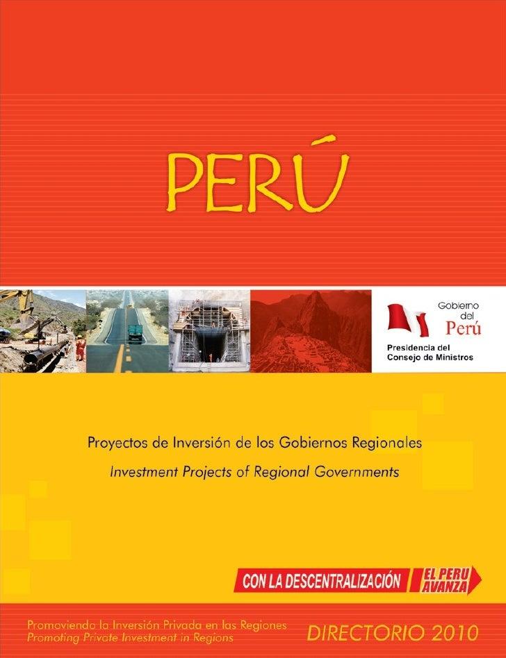 Secretaría de Descentralización  Av. Armendáriz 339 - Miraflores Lima 18 - Perú Teléfono: 51.1.716.8900 Fax: 51.1.716.8909...
