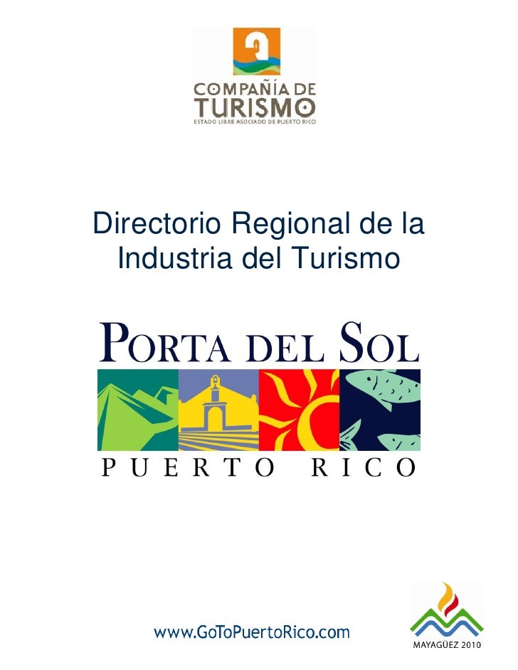 Directorio Regional de la  Industria del Turismo                                 1