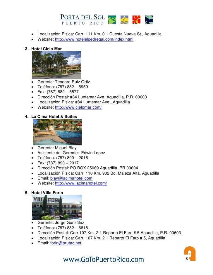 Directorio de hoteles para mayaguez 2010 for Hotel cielo mar ofertas familiares