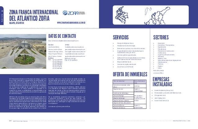 Directorio de Zonas Francas Permanentes en Colombia