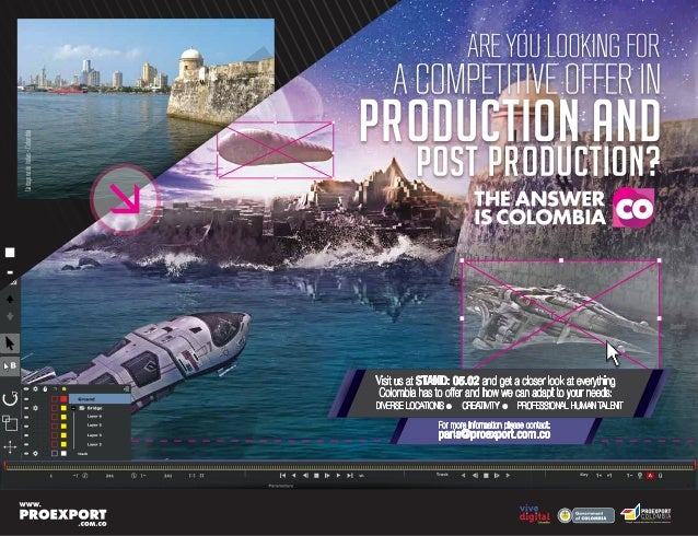 CartagenadeIndias-Colombia L ibertad y Orden For more information please contact: paris@proexport.com.co Visit us at STAND...