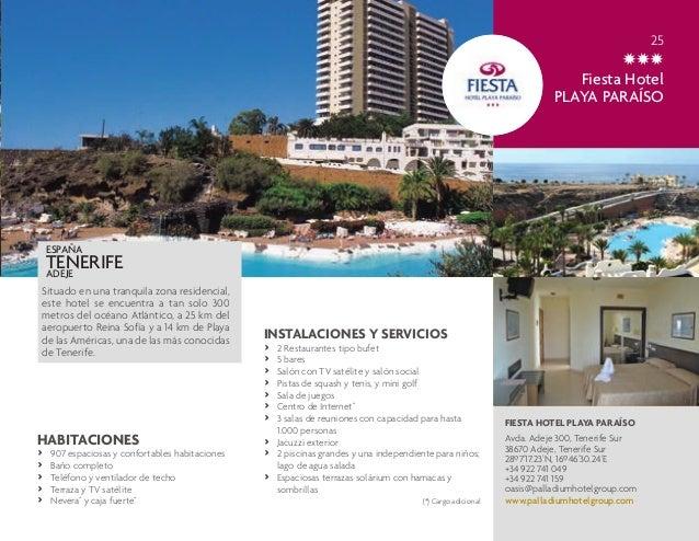 Directorio De Hoteles Palladium Hotel Group Enero 2014