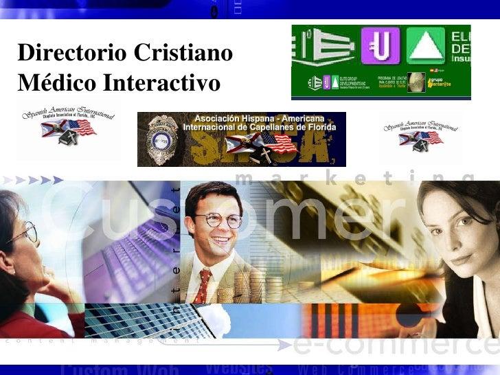 Directorio Cristiano Médico Interactivo