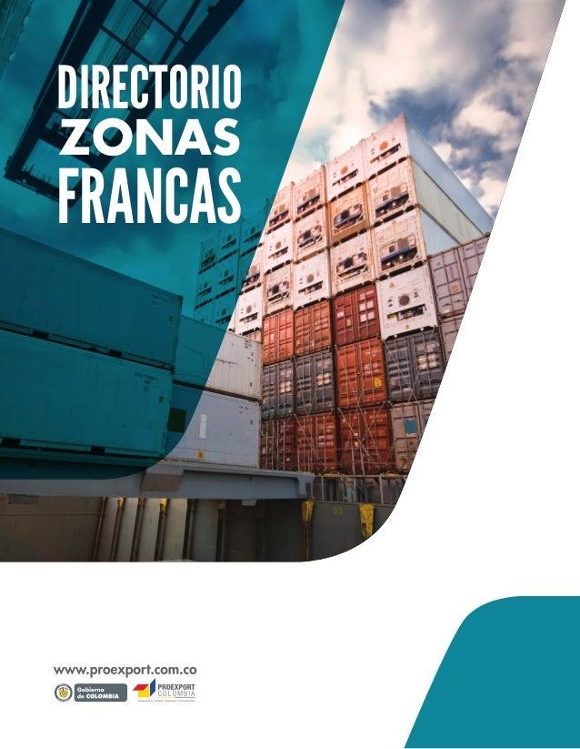 DIRECTORIO  FRANCAS  ZONAS  Libertad yOrden