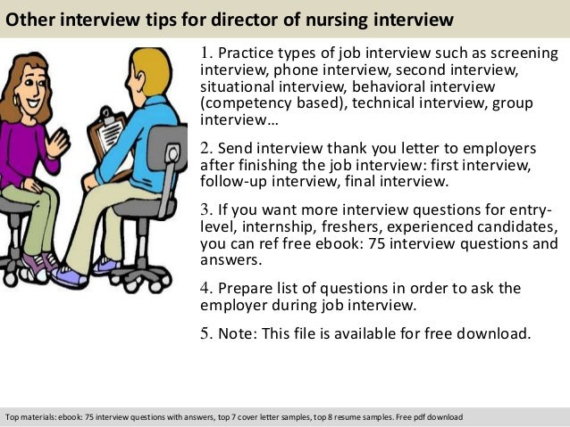 Director Of Nursing Interview Questions