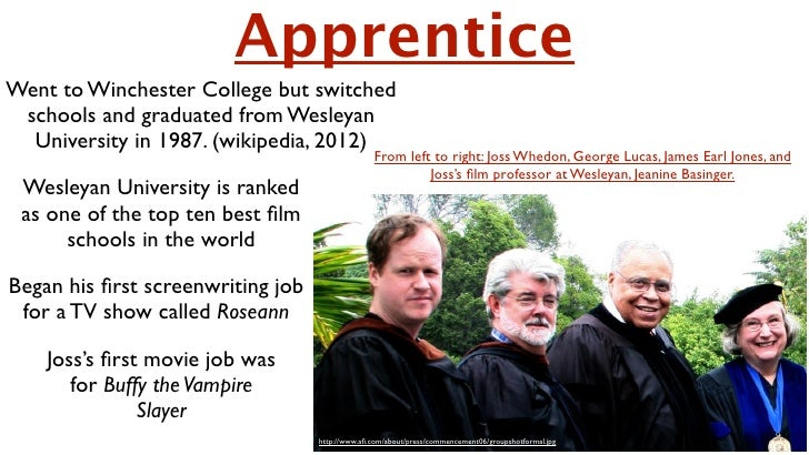 ApprenticeWent to Winchester College but switched schools and graduated from Wesleyan  University in 1987. (wikipedia, 201...