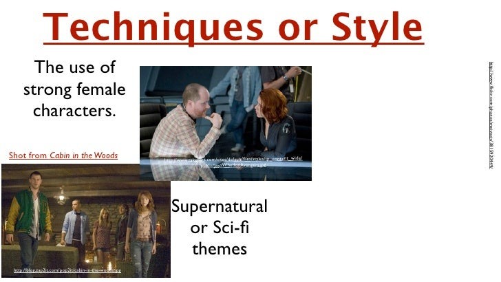 Techniques or Style       The use of                                                                                      ...