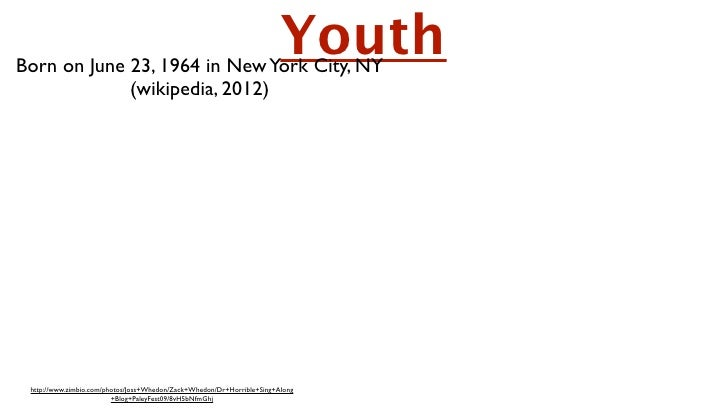 Born on June 23, 1964 in New York City, NY                                                                         Youth  ...