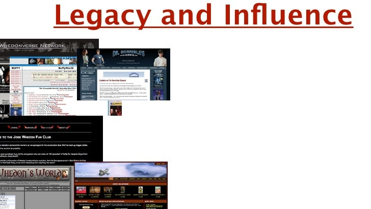 Legacy and Influence         Now known as a credible director because of        The Avengers and his future movies such as ...