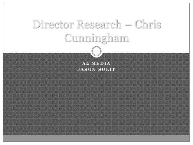 Director Research Chris Cunningham