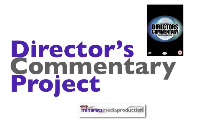 Director'sCommentaryProject