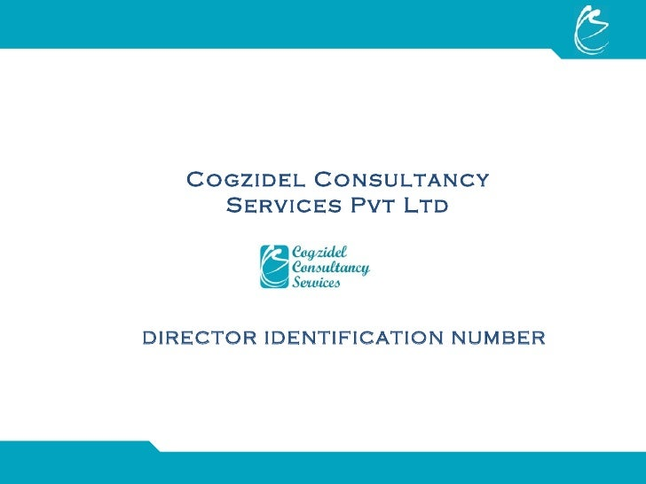 Directors Identification Number