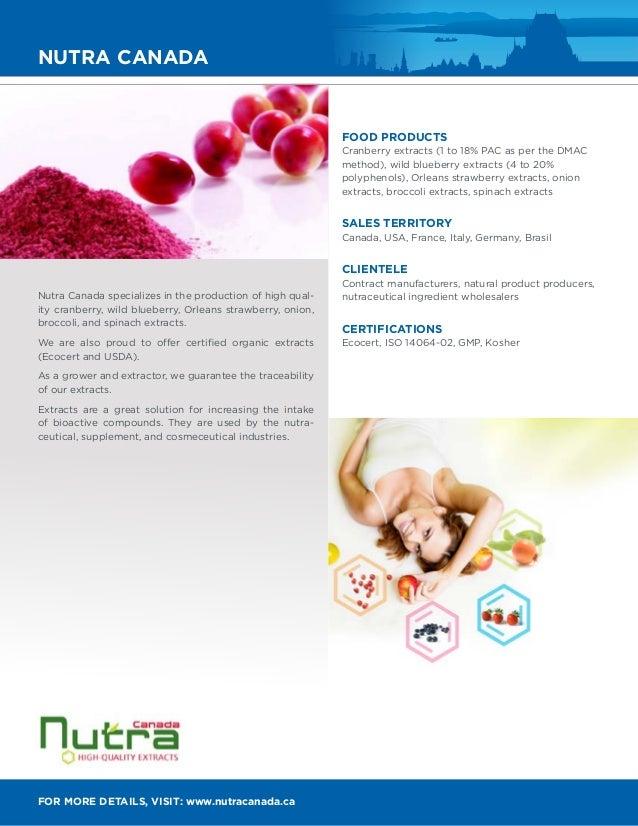 Quebec City Health Food Consortium Catalog - Members Directory