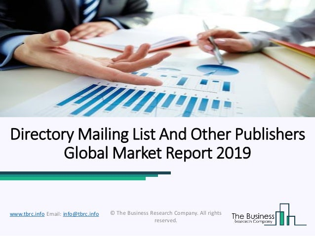 Global Directory Mailing List And Other Publishers Market