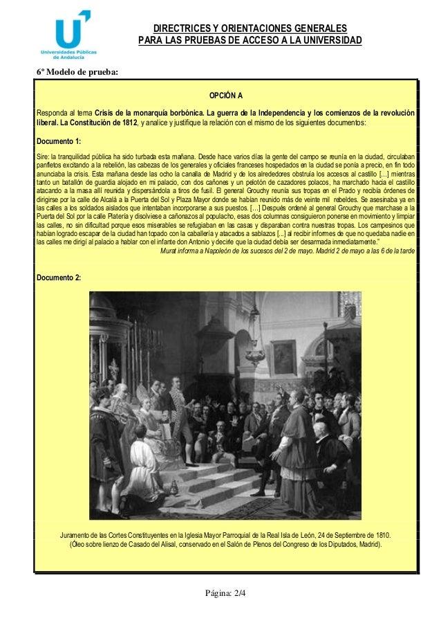 Directrices y orientaciones,historia de españa. Slide 2