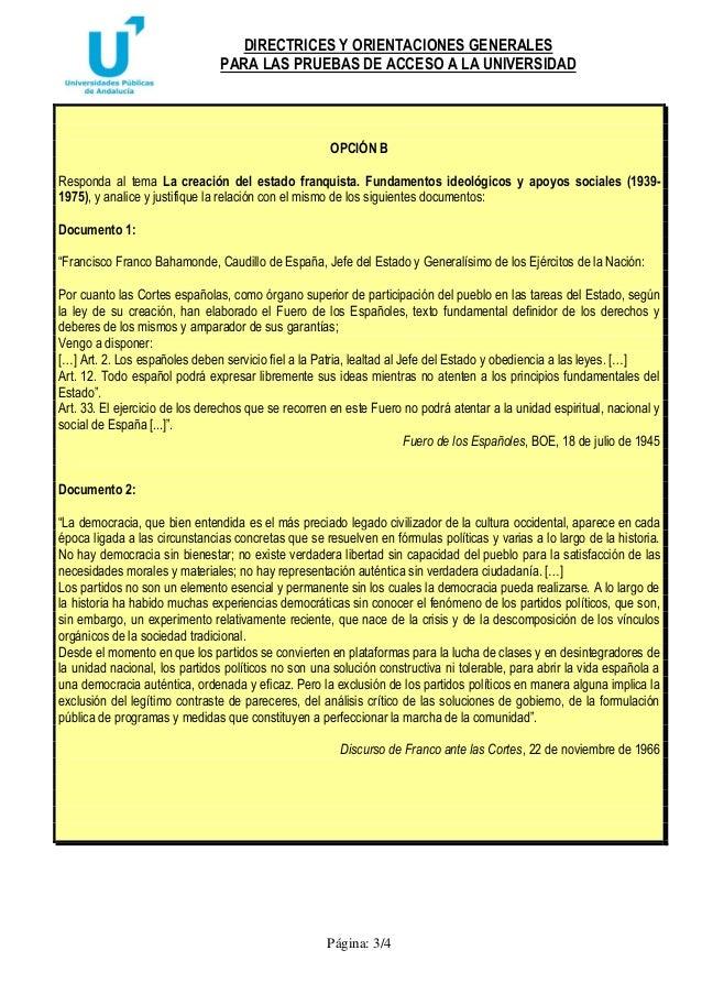 Directrices y orientaciones,historia de españa. Slide 3
