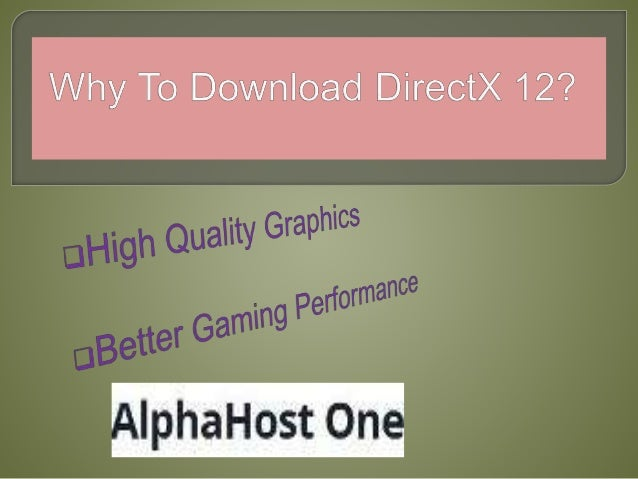 directx download for pc