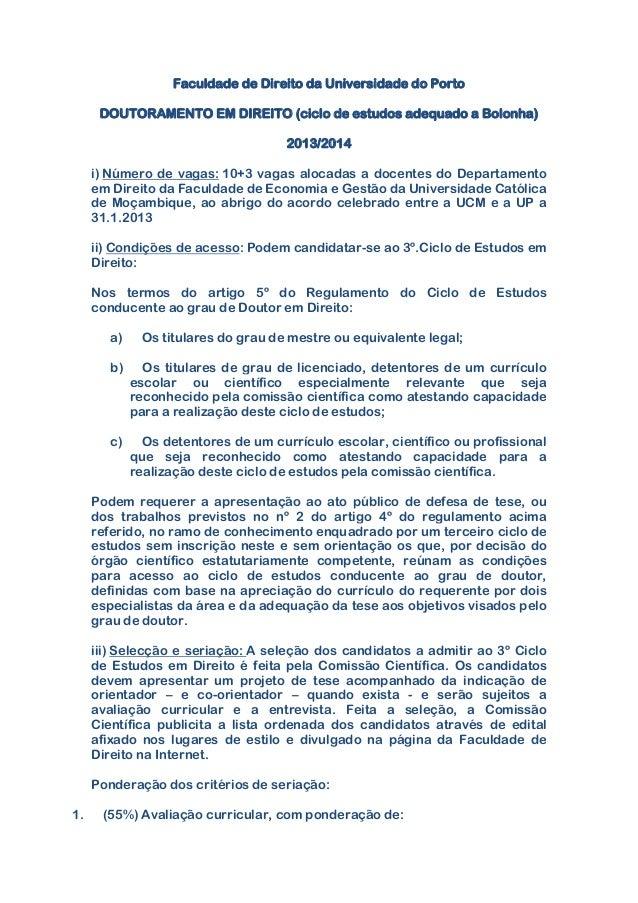 Doutoramento em Direito UPorto Slide 2