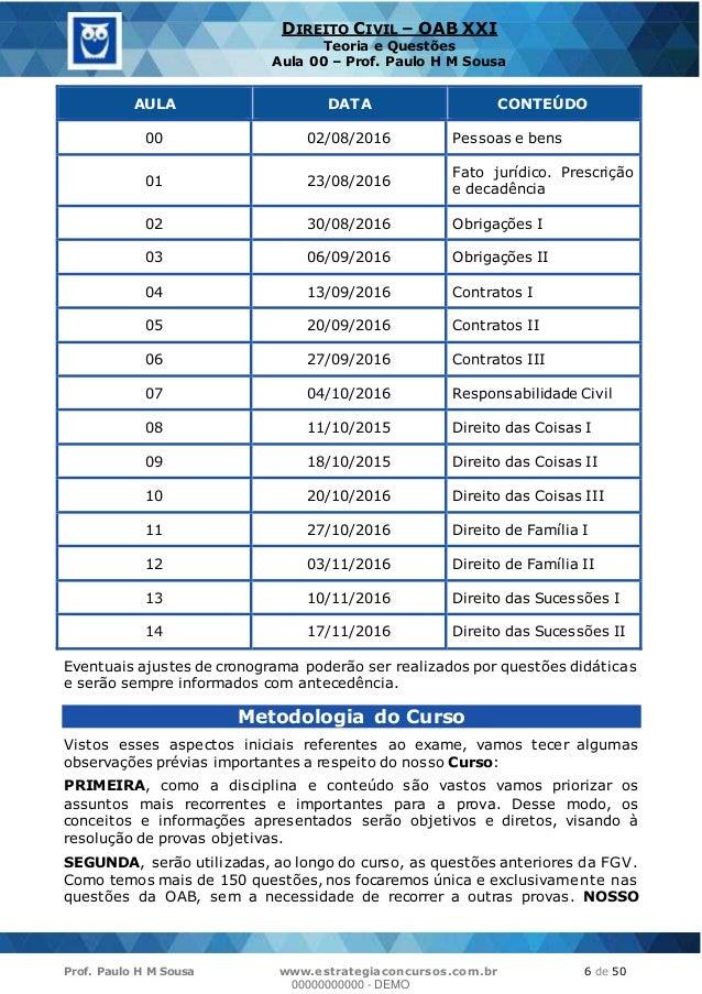 Datas exame oab 2015