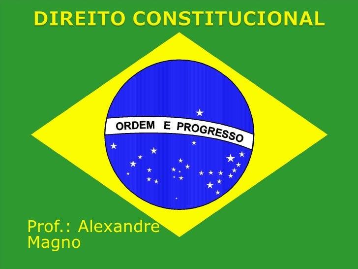 Prof.: Alexandre Magno
