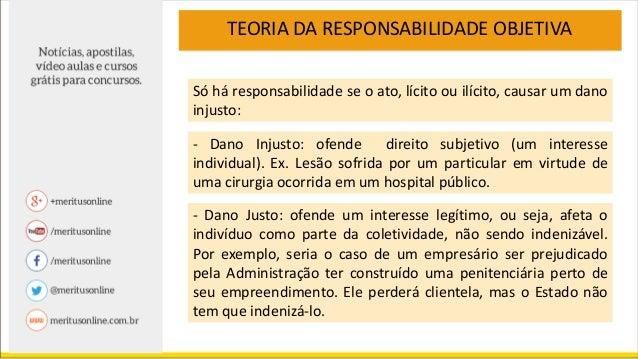 RESPONSABILIDADE DO ESTADO 1. REGRA: Responsabilidade Objetiva: Teoria do Risco Administrativo ART. 37p. 6º da CF Fato da ...