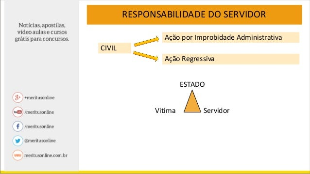 As três responsabilidades apontadas (administrativa, civil e criminal) são independentes e podem ser apuradas separadament...