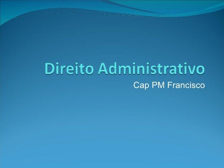 Cap PM Francisco