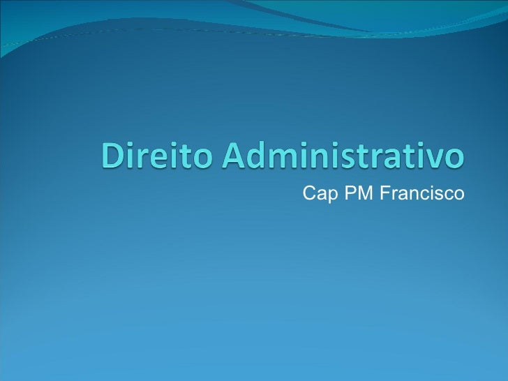 Cap PM Francisco
