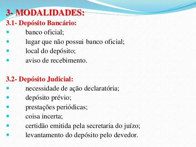 b) Novação subjetiva por substituição do credor:  Ocorre um acordo de vontades, pelo qual muda a  pessoa do credor. Median...