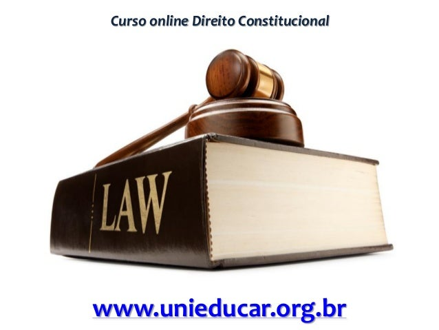Curso online Direito Constitucional www.unieducar.org.br