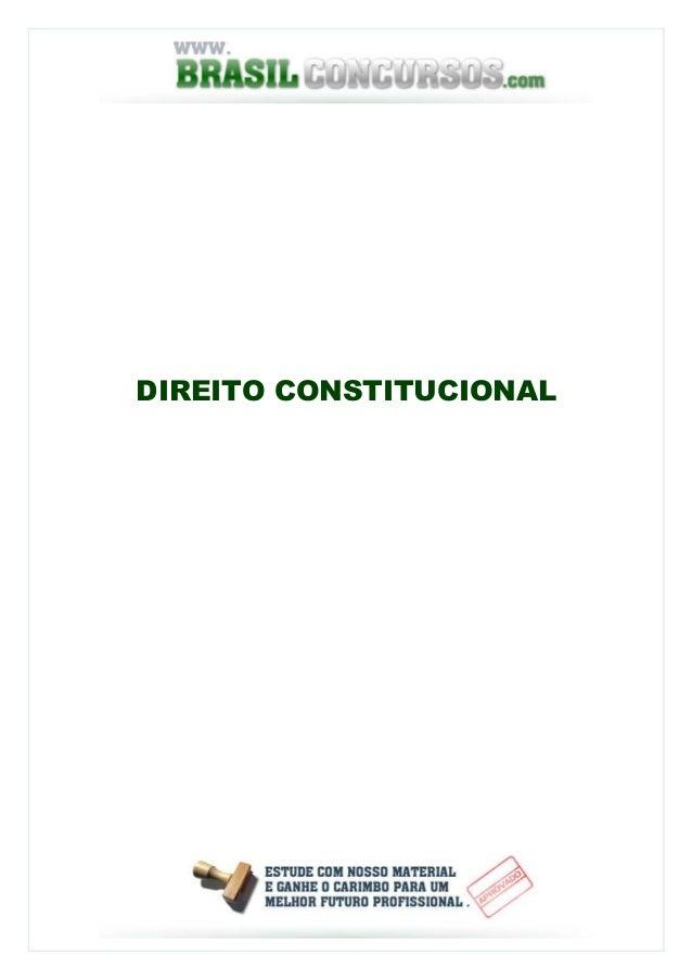 Direitoconstituicional