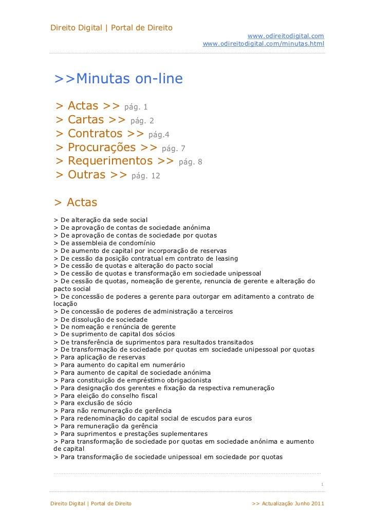 Direito Digital   Portal de Direito                                                          www.odireitodigital.com      ...