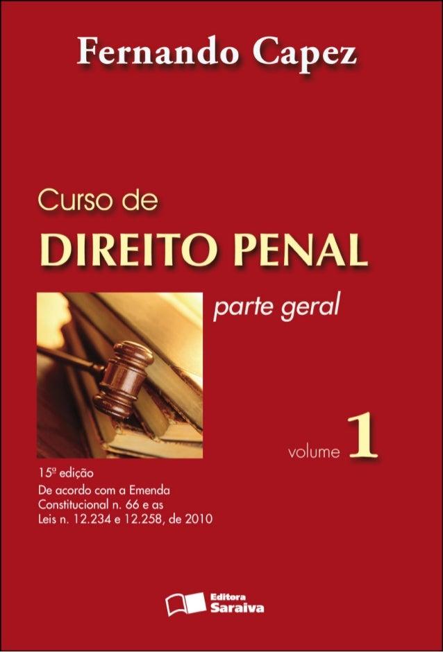 livro de direito penal fernando capez para