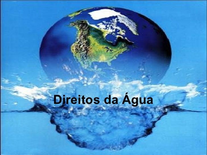 Direitos da Água